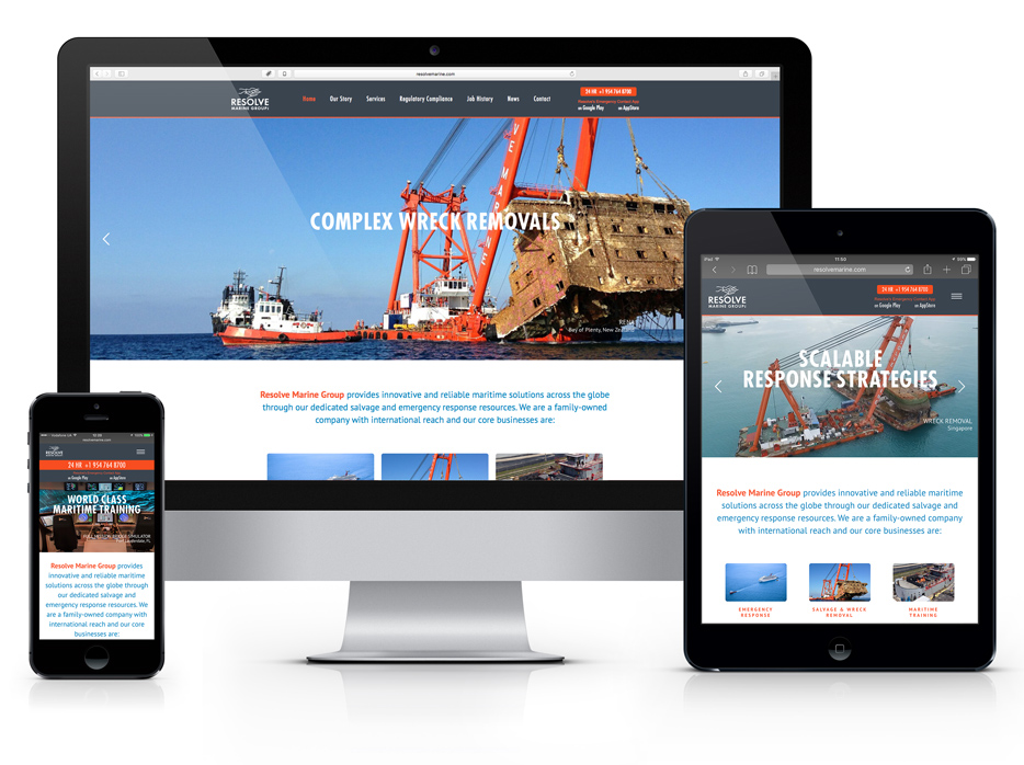 wordpress responsive web site